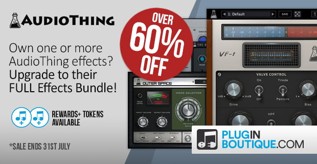 AudioThing Effect Bundle Upgrade deal