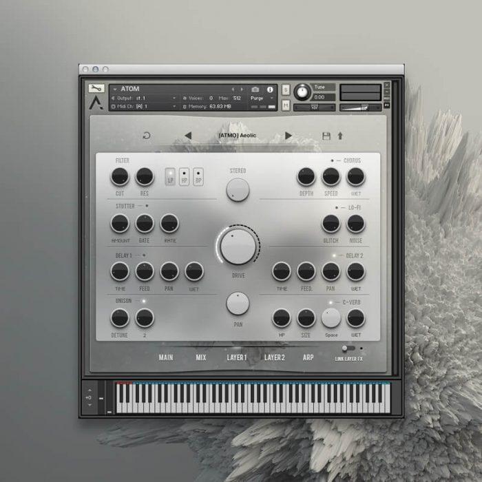 Audiomodern ATOM User Interface 3