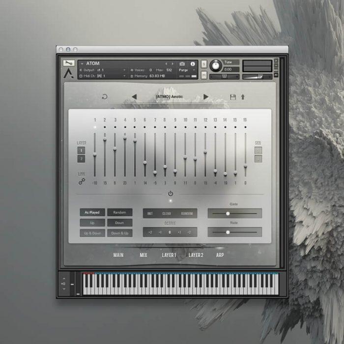 Audiomodern ATOM User Interface 4