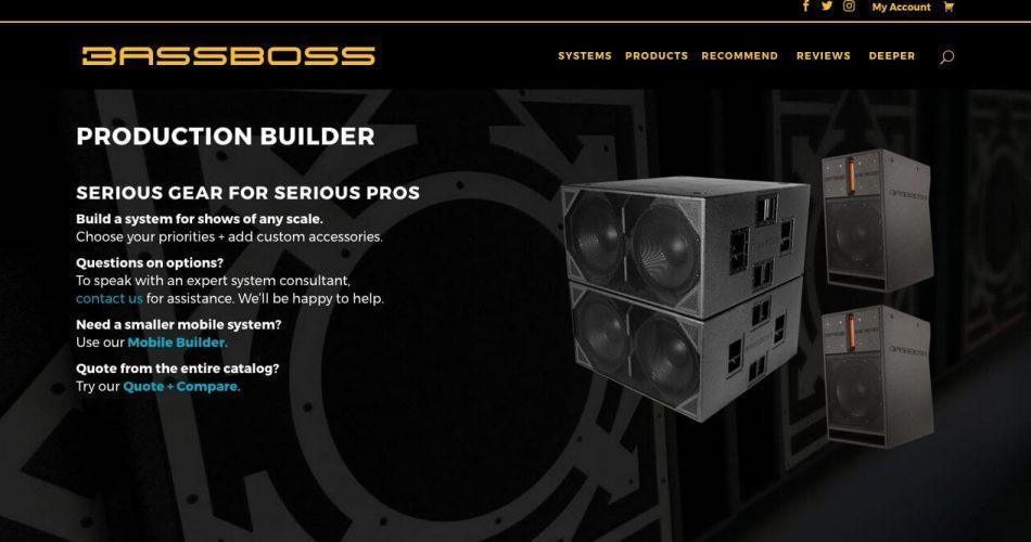 Bassboss production builder