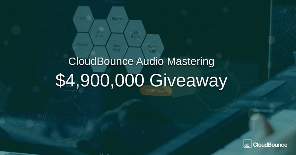 CloudBounce 1M giveaway