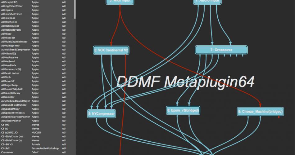 DDMF Metaplugin