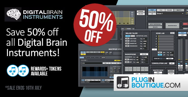 Digital Brain Instruments 50 off