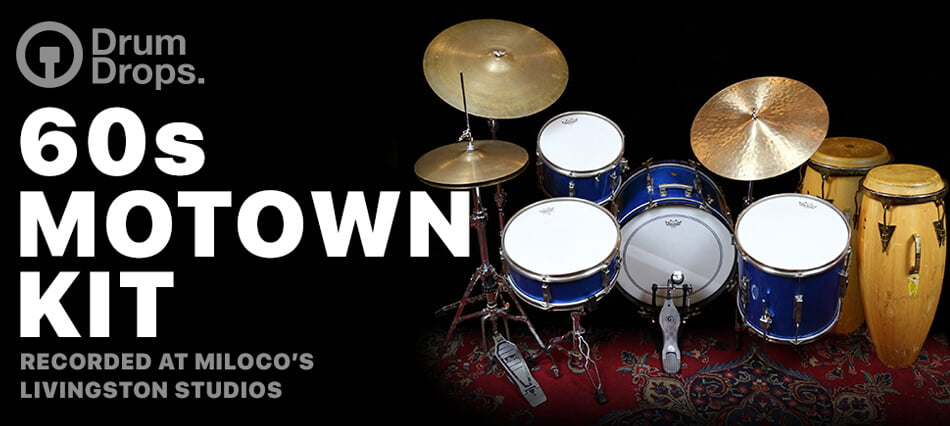 DrumDrops 60s Motown Kit