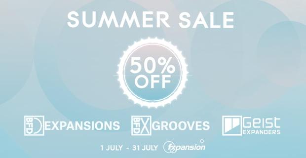 FXpansion Summer Sale Geist BFD