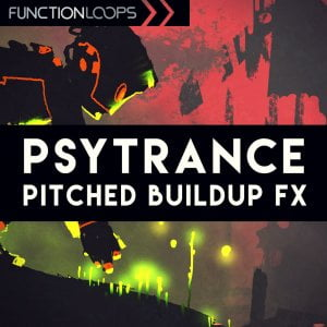 Function Loops Psytrance Pitched Buildup FX