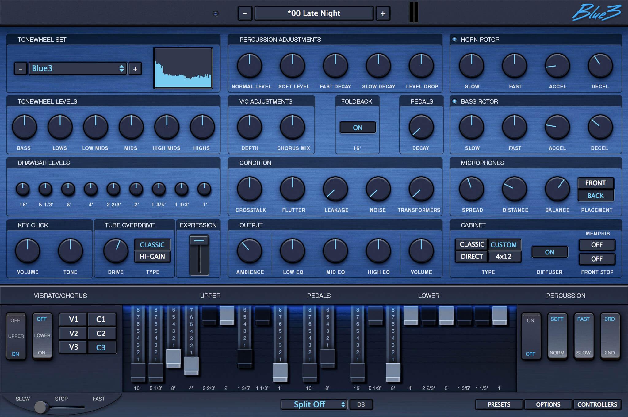 blue3 organ