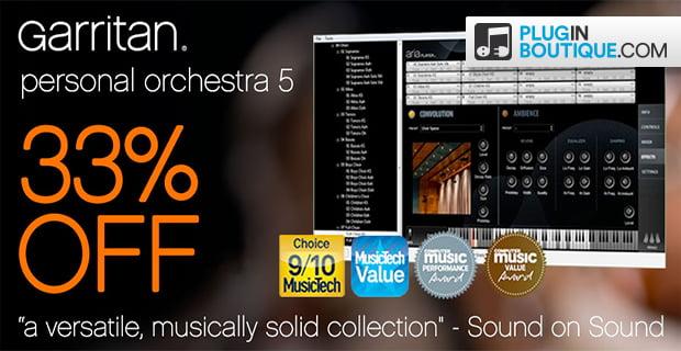 Garritan Personal Orchestra 5 sale