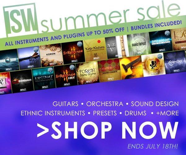 Impact Soundworks Summer Sale 2017