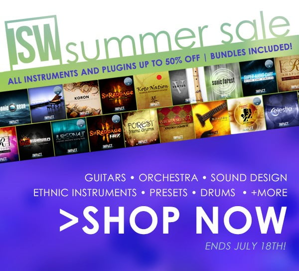 Impact Soundworks Summer Sale 2017