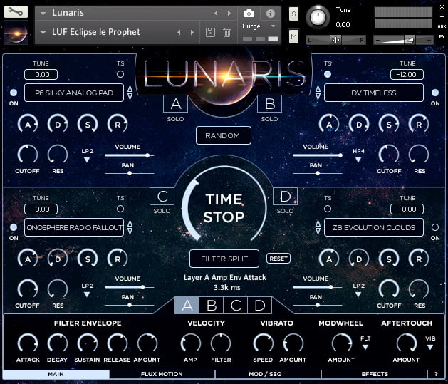 Luftrum Lunaris Pads screen
