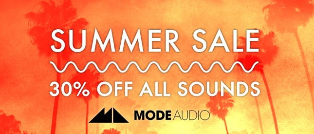 ModeAudio Summer Sale 2017