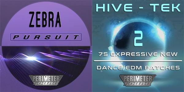 Perimeter Sound Zebra Pursuit and Hive Tek 2