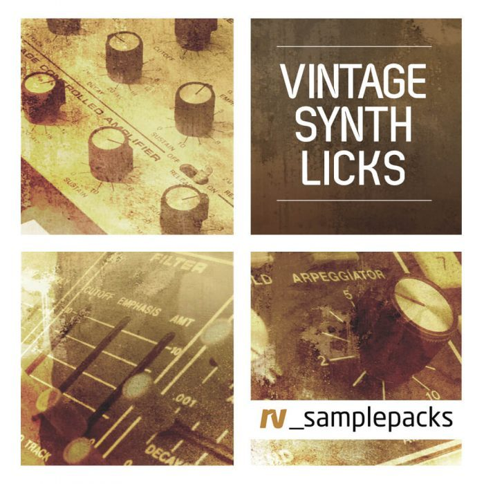 RV Samplepacks Vintage Synth Licks