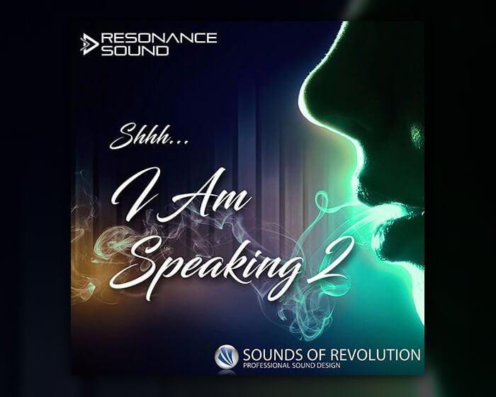 Resonance Sound Shh I am Speaking Vol 2 EDM Vocals