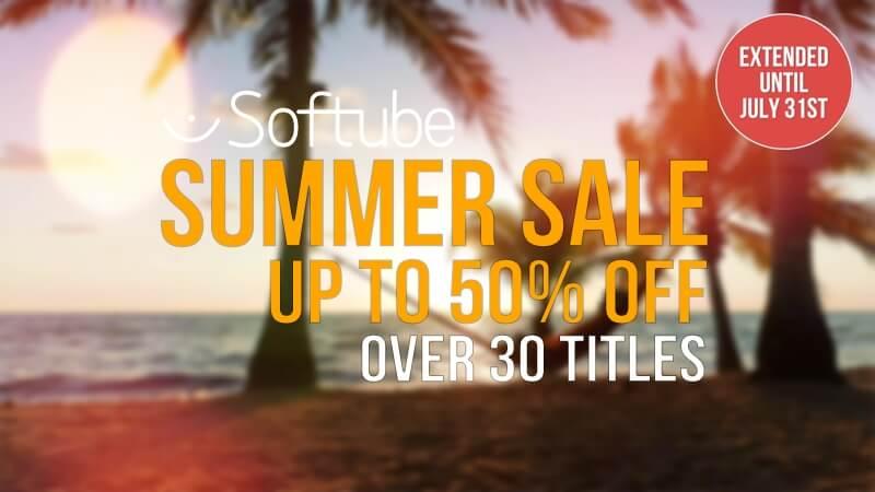 Softube Summer Sale extended