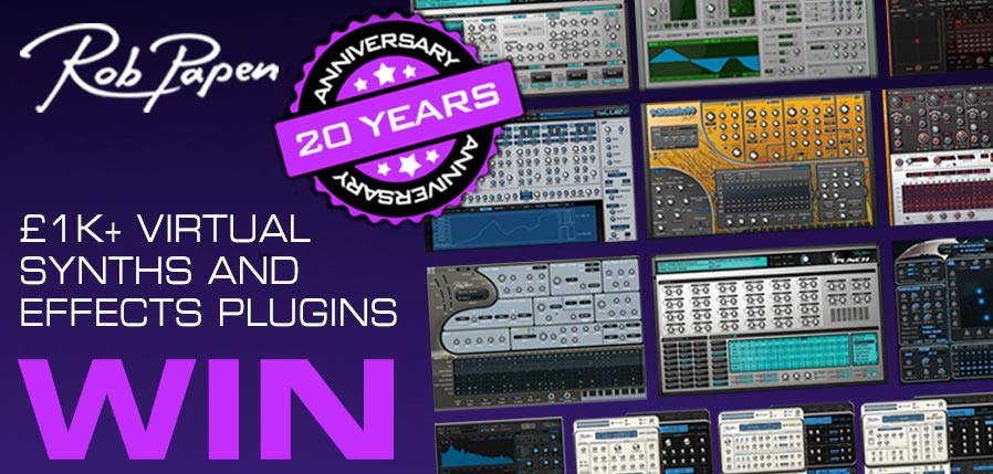 Time+Space Rob Papen Giveaway