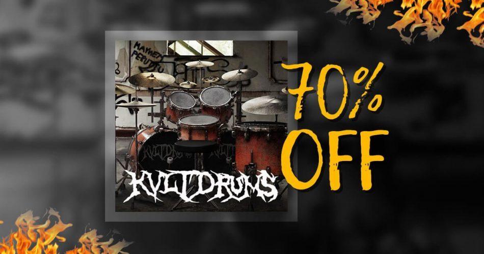VST Buzz KVLT Drums 70% off