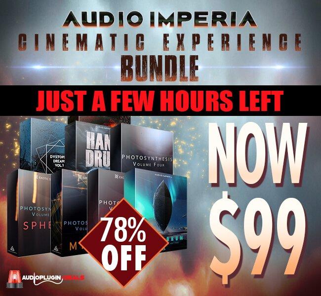 Audio Plugin Deals Audio Imperia Bundle hours