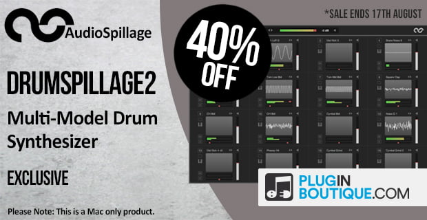 AudioSpillage DrumSpillage 2 sale