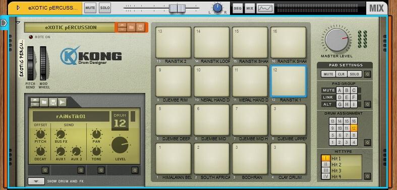 AudioWarrior X Ray Kong Drums