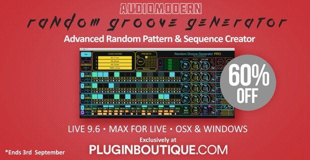 Audiomodern Random Groove Generator Sale