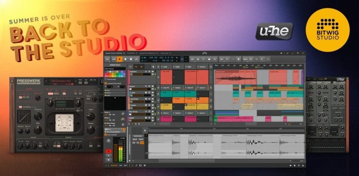 Bitwig Back To The Studio Sale
