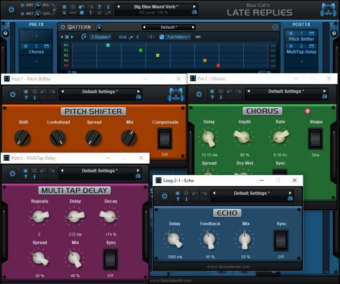 Blue Cat Audio Late Replies effects
