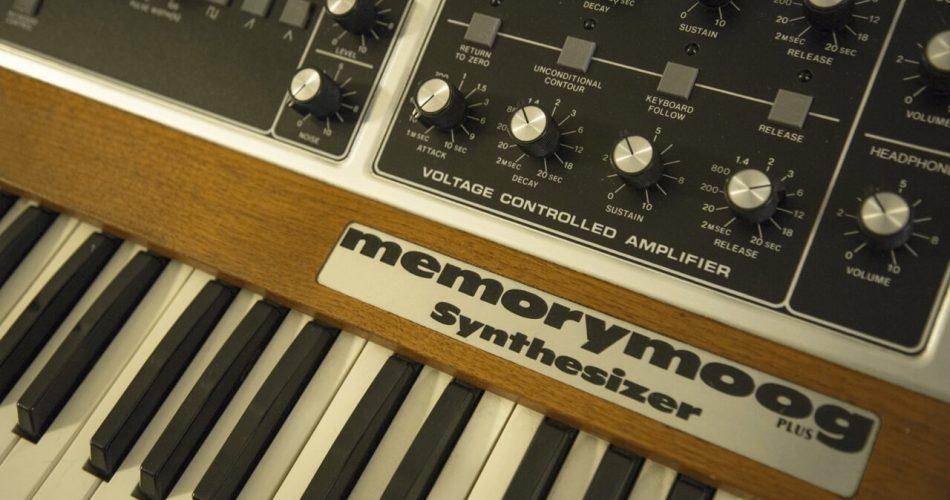 Bob Moog Foundation Memorymoog PLUS