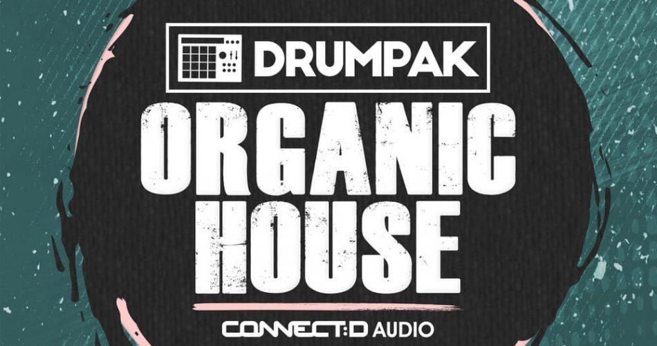 CONNECTD Audio Drumpak Organic Drums