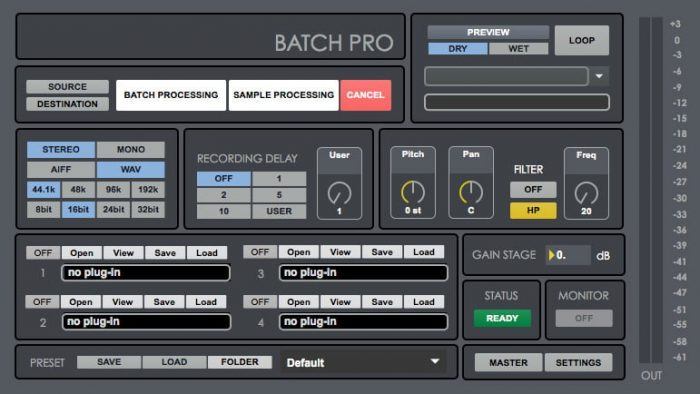 Digital Brain Instruments Batch Pro