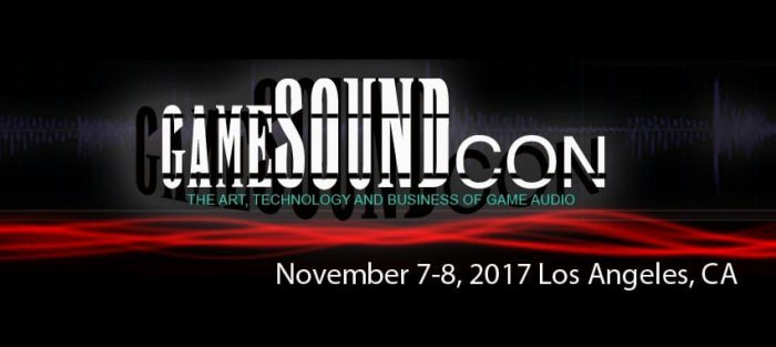 GameSoundCon 2017