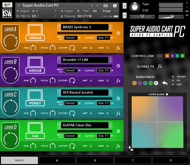 Impact Soundworks Super Audio Cart PC GUI