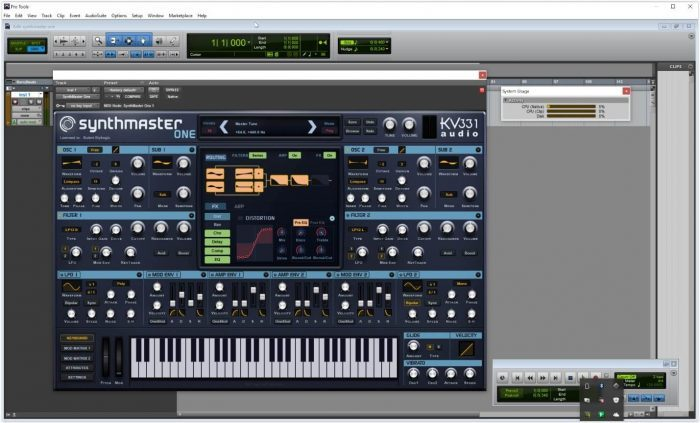 KV331 Audio SynthMaster One AAX Pro Tools