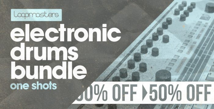 Loopmasters Electronic Drums Bundle