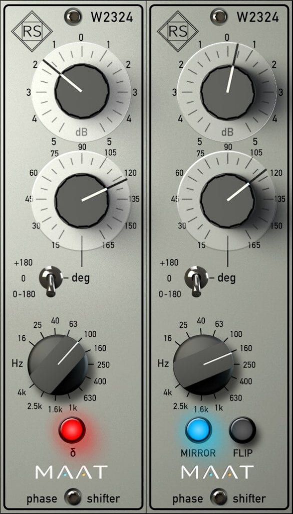 MAAT RSPhaseShifter interface
