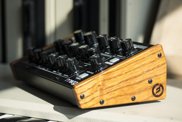 Moog Music Minitaur wood panels