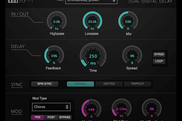 Numerial Audio RP-1 dual digital delay