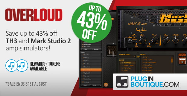 Overloud TH3 & Mark Studio 2 sale