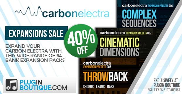 PIB Carbon Electra Expansions 40 sale