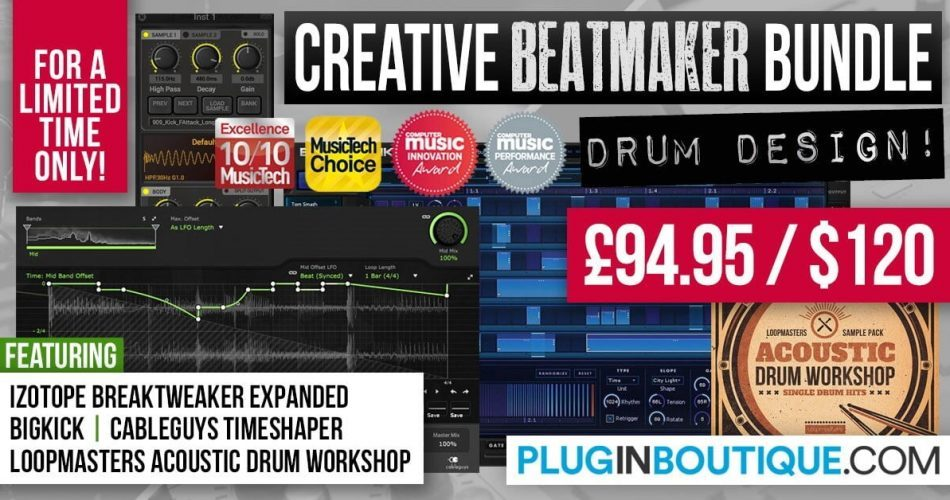 Plugin Boutique Creative Beatmaker Bundle