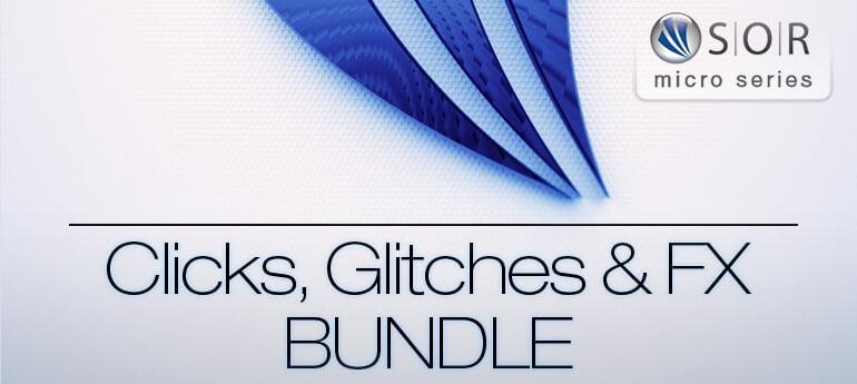 Resonance Sound Clicks, Glitches & FX Bundle
