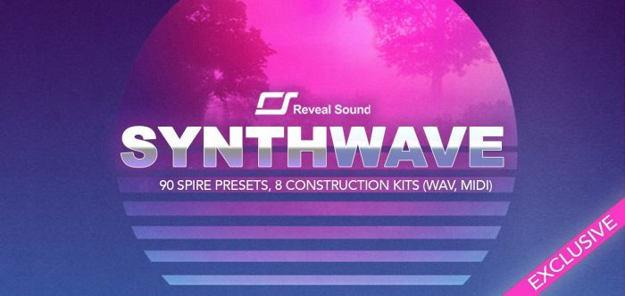 Reveal Sound Synthwave for Spire