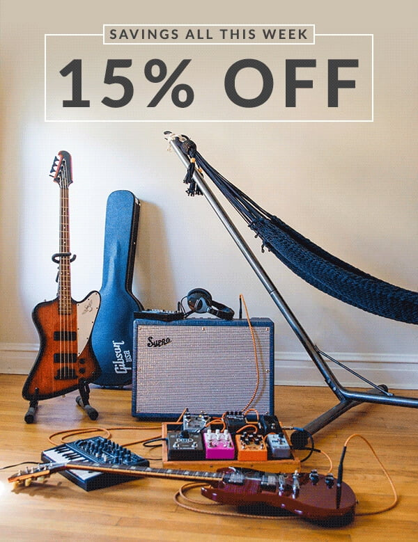 Reverb Labor Day Sale