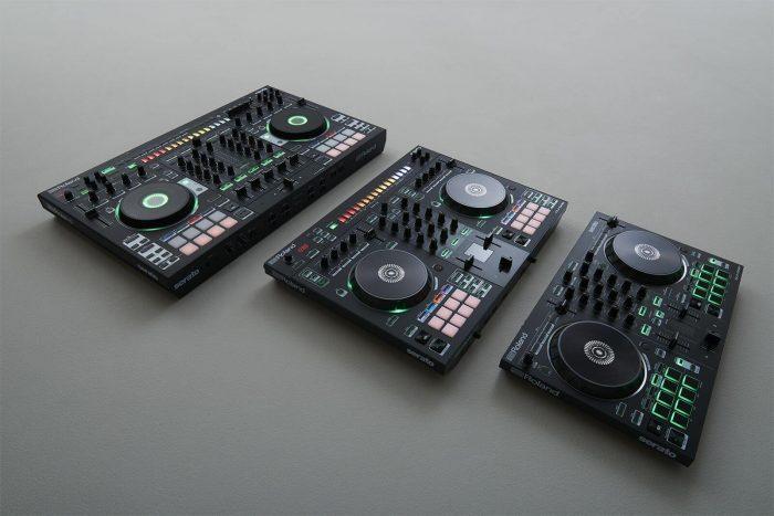 Roland DJ-808, DJ-505 & DJ-202 Controllers