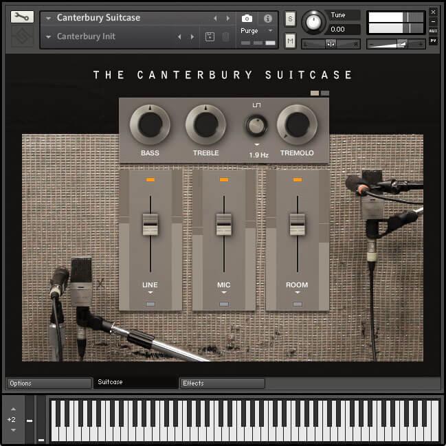 Soniccouture Canterbury Suitcase Main