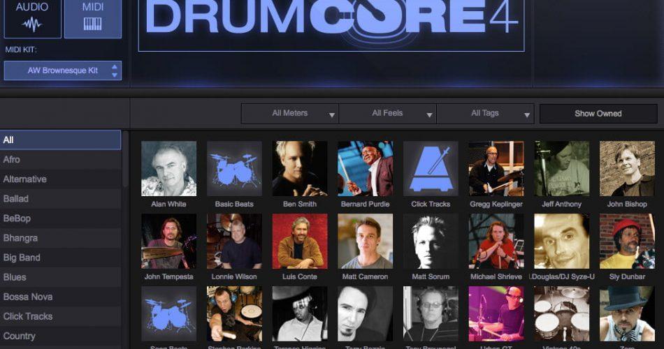 Sonoma Wire Works DrumCore 4 Browser Purdie