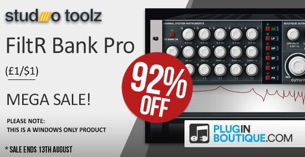 StudioToolz FiltR Bank Pro sale