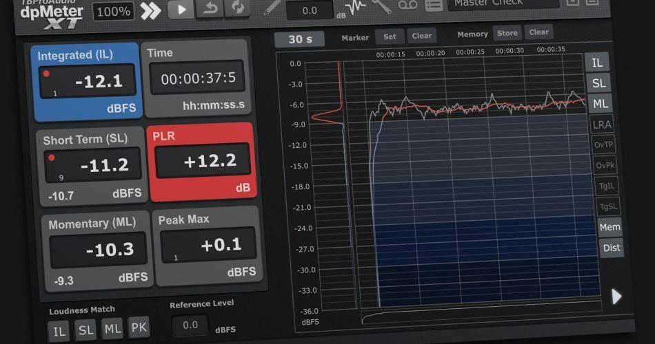 TBProAudio dpMeterXT