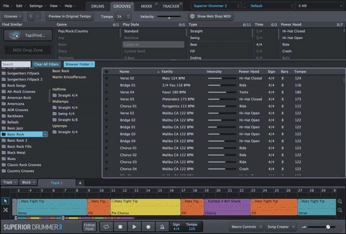 Toontrack Superior Drummer 3 Grooves